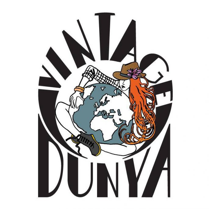 Logo design for vintage wholesale brand Vintage Dunya in cooperation with Lilian Leahy